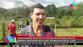 Inauguran proyecto de agua potable en el barrio Antoni Rizo de El Cuá en Jinotega