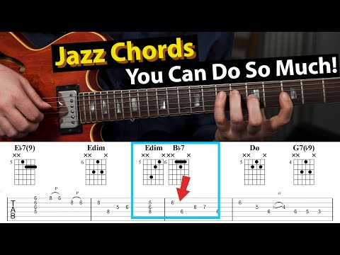 Jazz Blues Chords - How To Make It Sound Like Jazz
