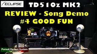 Eclipse TD510Z MK2 Speakers REVIEW Song Demo 4 Chord QUTEST Hugo M Scaler BEAST MODE McIntosh hifi