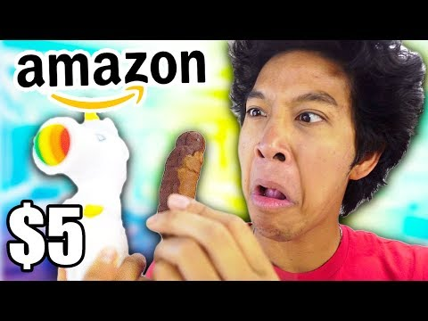 $5 Weird AMAZON Toys & Things!