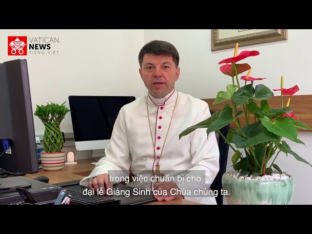 Đức TGM Marek Zalewski gởi lời chúc Mùa Vọng đến tín hữu Việt Nam