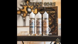 Illusions Vapor Taste of Gods Series presentation