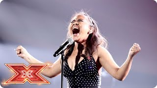 Alisah Bonaobra is Praying For Time | Live Shows | The X Factor 2017