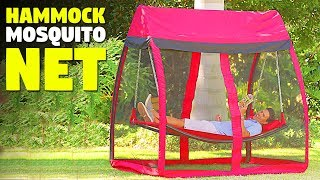 Awesome Hammock With Mosquito Net Tent