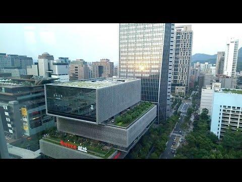 台灣 Taiwan Google會議室的窗外景色【Taiwan Google Office window view】