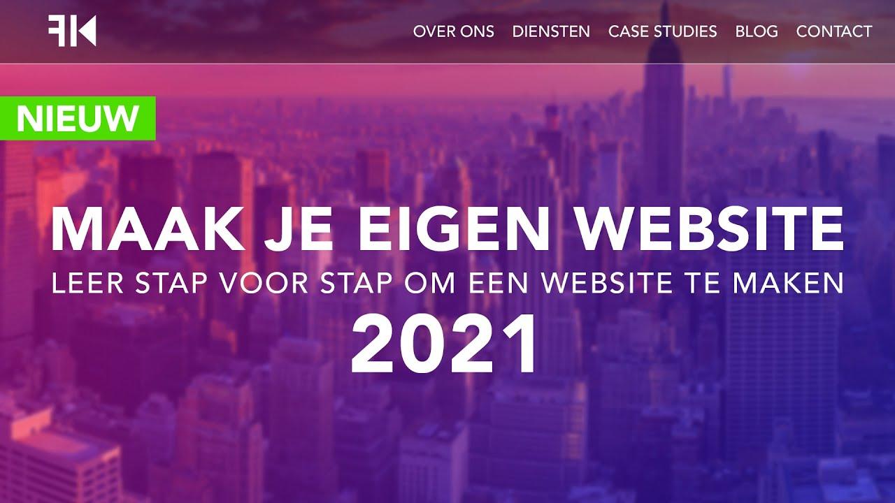Hoe Maak Je Een Website 2021