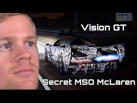 Secret MSO McLaren Vision Gran Turismo BC-003 One of one??🤯