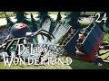 watch he video of 24. Planet Coaster: DeLady in Wonderland - Spooky Area - Ep. 5 - Black Widow Eurofighter coaster
