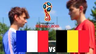 FRANKREICH vs. BELGIEN, WM 2018 Halbfinale | Fussball Challenge - Hipster Gnogg