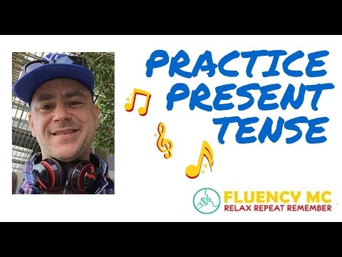 Learn And Speak English Present Tense Grammar Vocabulary Rap Song With Fluency MC