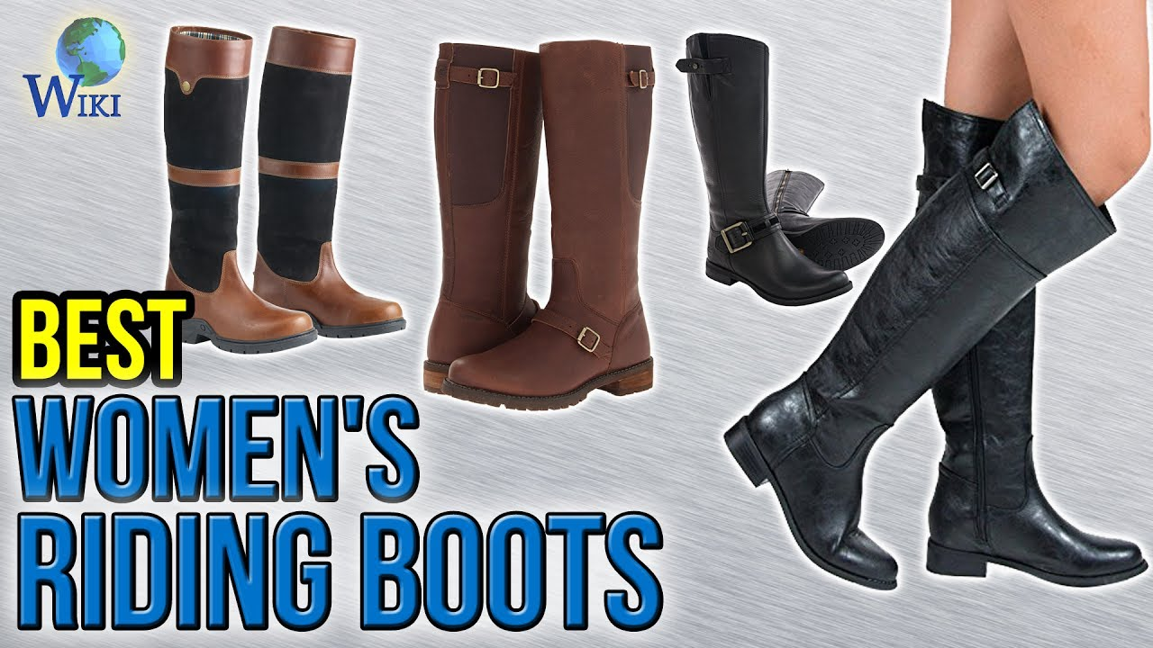 10 Best Women S Riding Boots 2017 Youtube