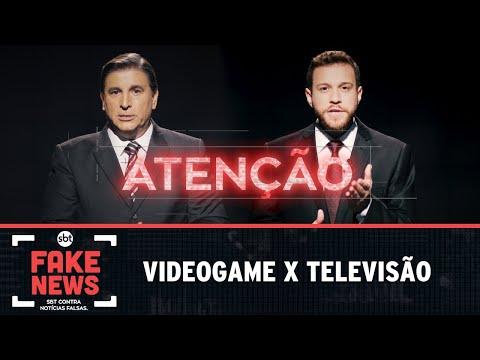 SBT Contra Notícias Falsas: Videogame x televisão