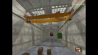 Тренажер  мостового крана