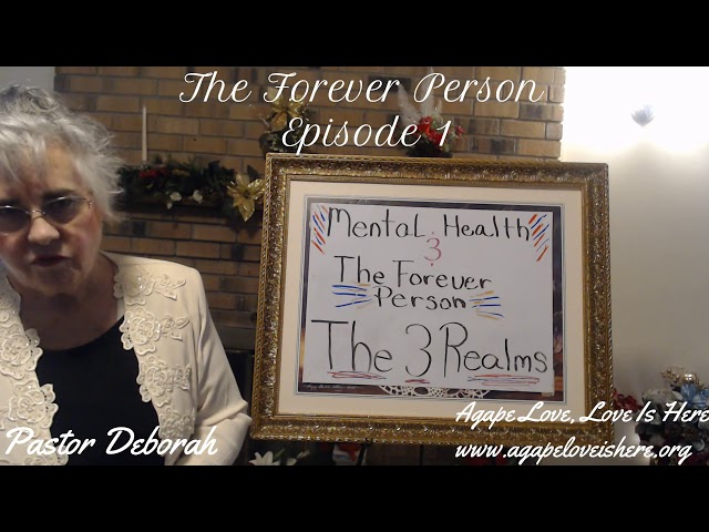 Mental Health & The Forever Person, Series, The Forever Person, Episode 1