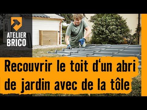 Atelier brico HORNBACH - Recouvrir le toit de l\'abri de ...