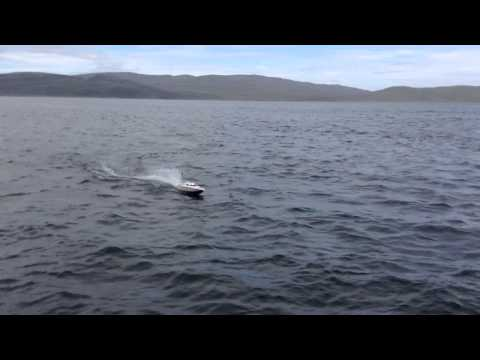 R/C Gas Powered Speedboat in Salluit,Qc.