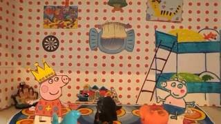 Домик СВИНКИ ПЕППЫ своими руками  для детей peppa pig's house мультик на русском