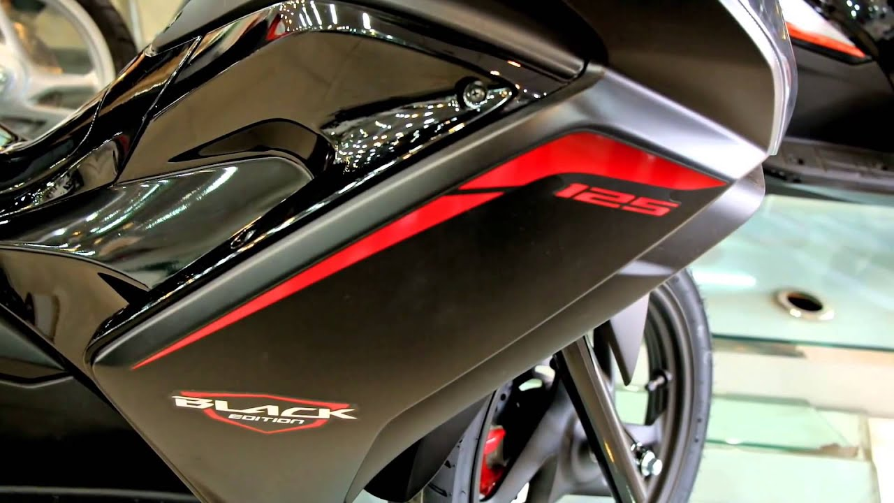 2015 honda air blade 125 black edition - top speed - youtube