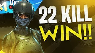 22 KILL WIN (Solo VS Duos) - Fortnite Battle Royale