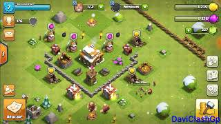 Jogando Clash Of clans parte3