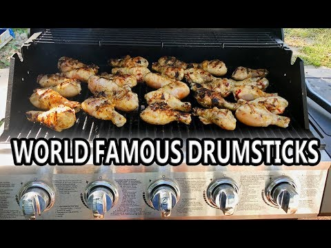 Cooking Chicken Legs - WORLD FAMOUS Grilled Drumsticks!