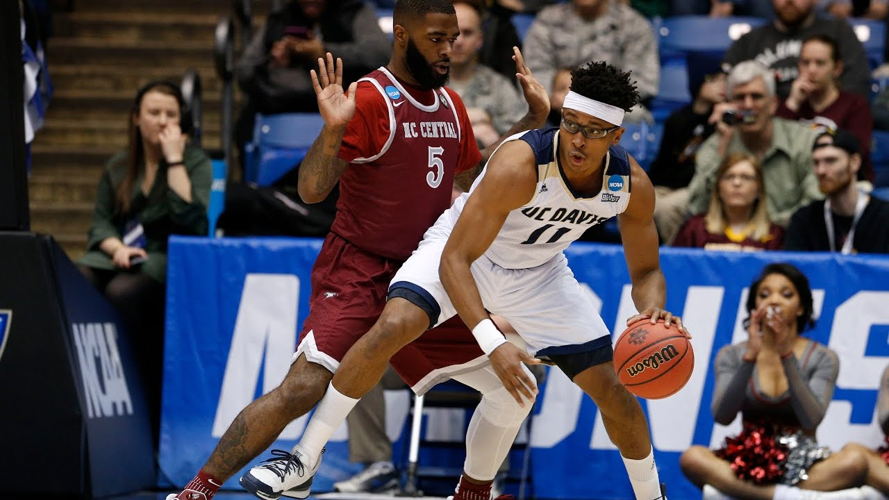 nc central vs uc davis game highlights youtube