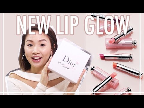 🎃Dior Lip Glow 最新系列上咀顏色  Try On & Swatch | Pumpkin Jenn🎃
