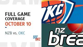 FULL GAME COVERAGE: New Zealand Breakers vs Oklahoma City Thunder   2019-20 NBA Season - 10.10.19