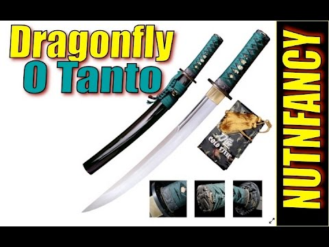 Cold Steel Dragonfly O Tanto:  More Lethal Than Bowie?!