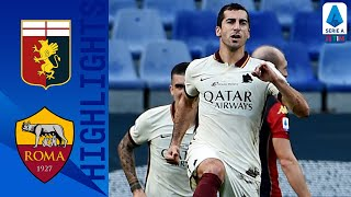 Genoa 1-3 Roma | Mkhitaryan bags hat-trick to guide Roma to a 3-1 victory! | Serie A TIM