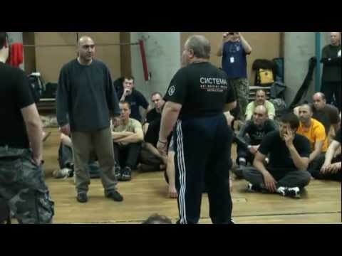 SYSTEMA, Vladimir Vasiliev et Mikhail Ryabko Paris боевые искусства