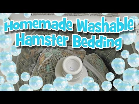 My Homemade Washable Hamster Bedding by Hammy Time
