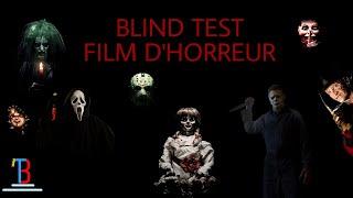 BLIND TEST FILM D'HORREUR DE 40 EXTRAITS (AVEC RÉPONSES)