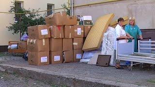 Допомогу з Італії отримала Коломийська залізнична лікарня(Допомога з Італії. Благодійний фонд
