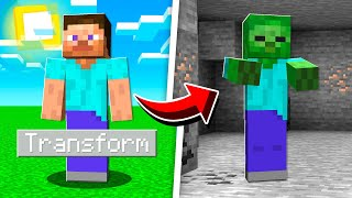 How To MORPH Into ANY MOB in Minecraft!