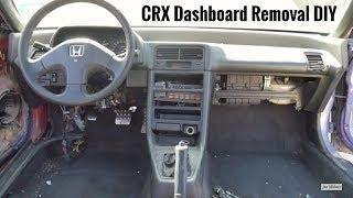How to Remove Dashboard - 88-91 Honda CRX & Civic