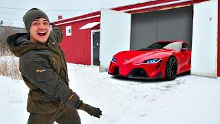 Купили на аукционе гигантский гараж за 1 миллион рублей! Нашли 3 автомобиля!