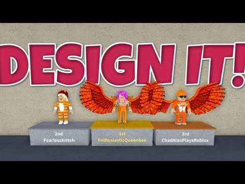 Roblox / Becoming a Designing Super Star! / Design It! / Gamer Chad Plays
