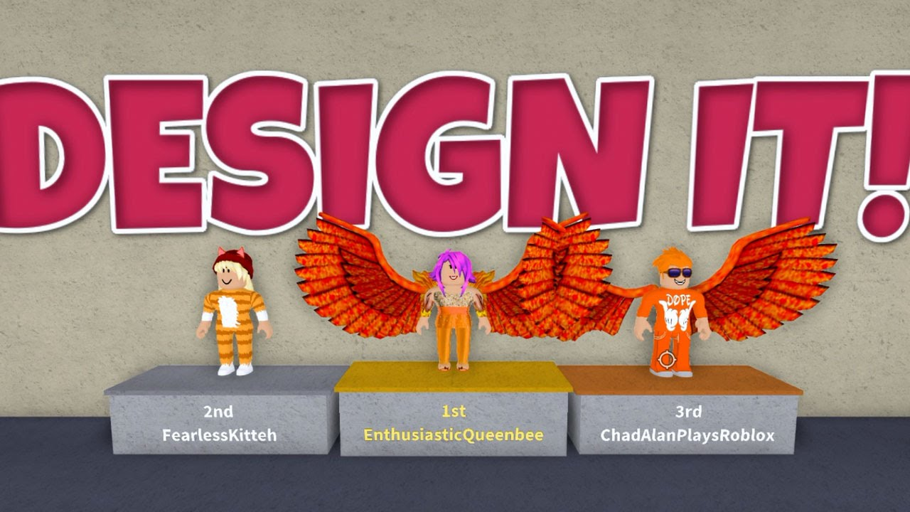 design it Roblox / Becoming a Designing Super Star! / Design It! / Gamer  design it