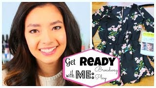 ♡Get Ready With Me♡ Broadway Play ♡ Makeup ♡ Hair ♡ Outfit ♡