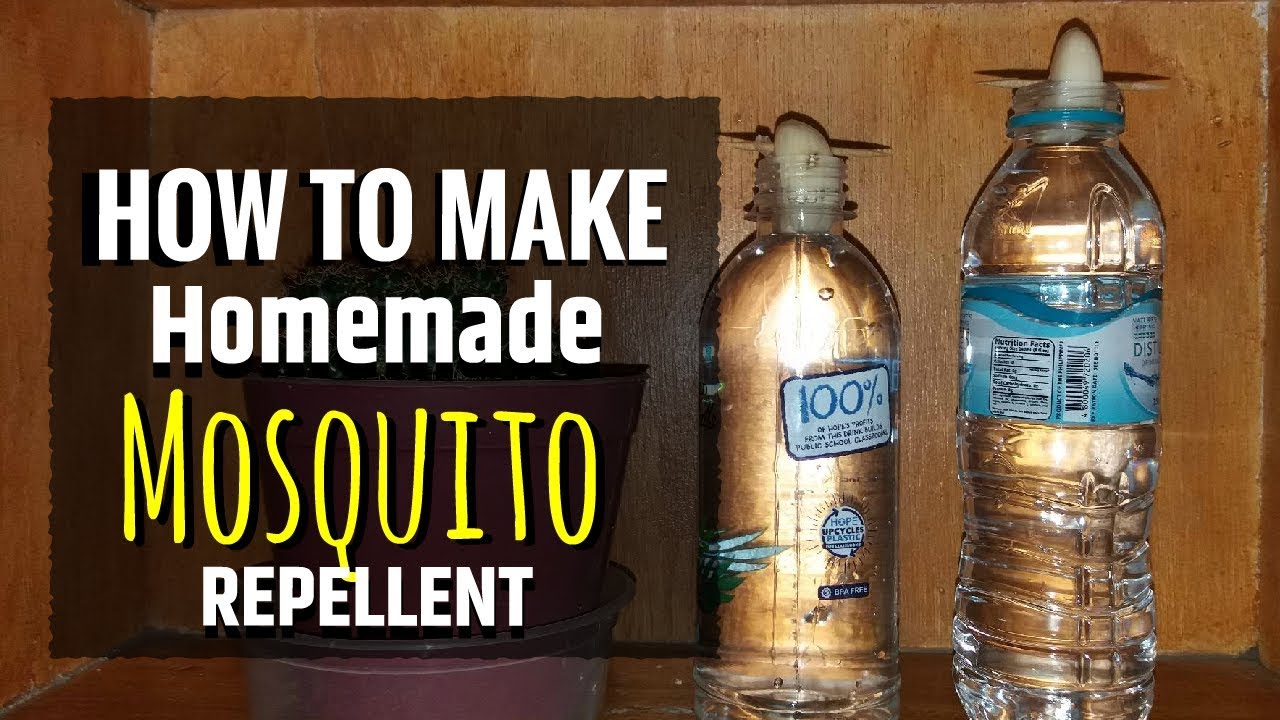 How To Make Homemade Mosquito Repellent