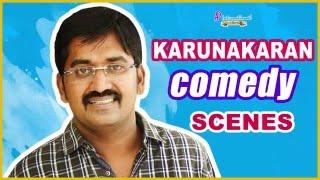 Karunakaran Comedy Scenes | Santhanam | Udhayanidhi | Vijay Sethupathi | Arya | Latest Tamil Comedy