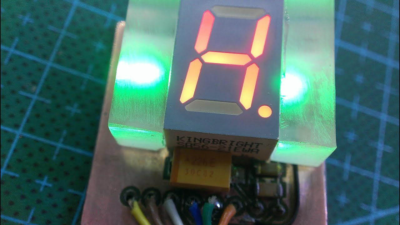Делаем индикатор отображения передачи Схема-авто