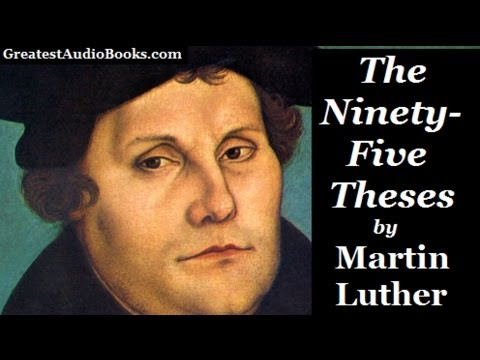 Ninety five theses quizlet