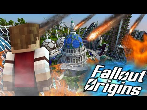 ATTACK ON ORBITAL INDUSTRIES! Minecraft FALLOUT ORIGINS #22 ( Minecraft Roleplay SMP ) thumbnail