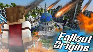 ATTACK ON ORBITAL INDUSTRIES! Minecraft FALLOUT ORIGINS #22 ( Minecraft Roleplay SMP )