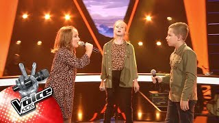 Download Eva, Elisabeth & Nathan - 'Feel It Still' | The Battles | The Voice Kids | VTM Mp3 and Videos