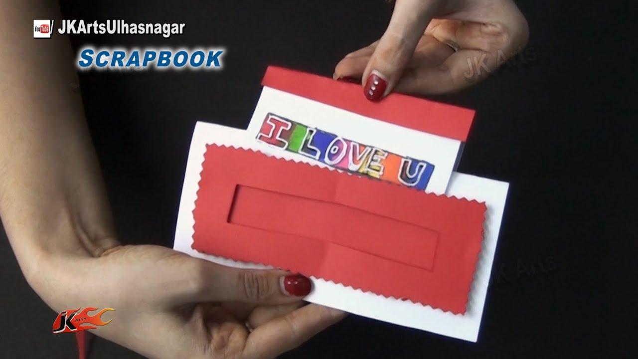 Magic scrapbook greeting card tutorial valentines day jk arts magic scrapbook greeting card tutorial valentines day jk arts 864 youtube kristyandbryce Images