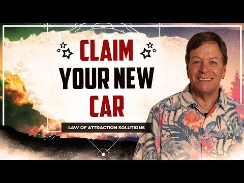 Claim Your New Car With Shamanic Tapping and the Law of Attraction