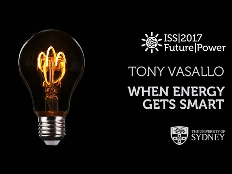 When Energy Gets Smart: Smart Grids II — Prof. Tony Vassallo